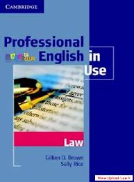 دانلود کتاب متون حقوقی Cambridge Professional English in Use-Law