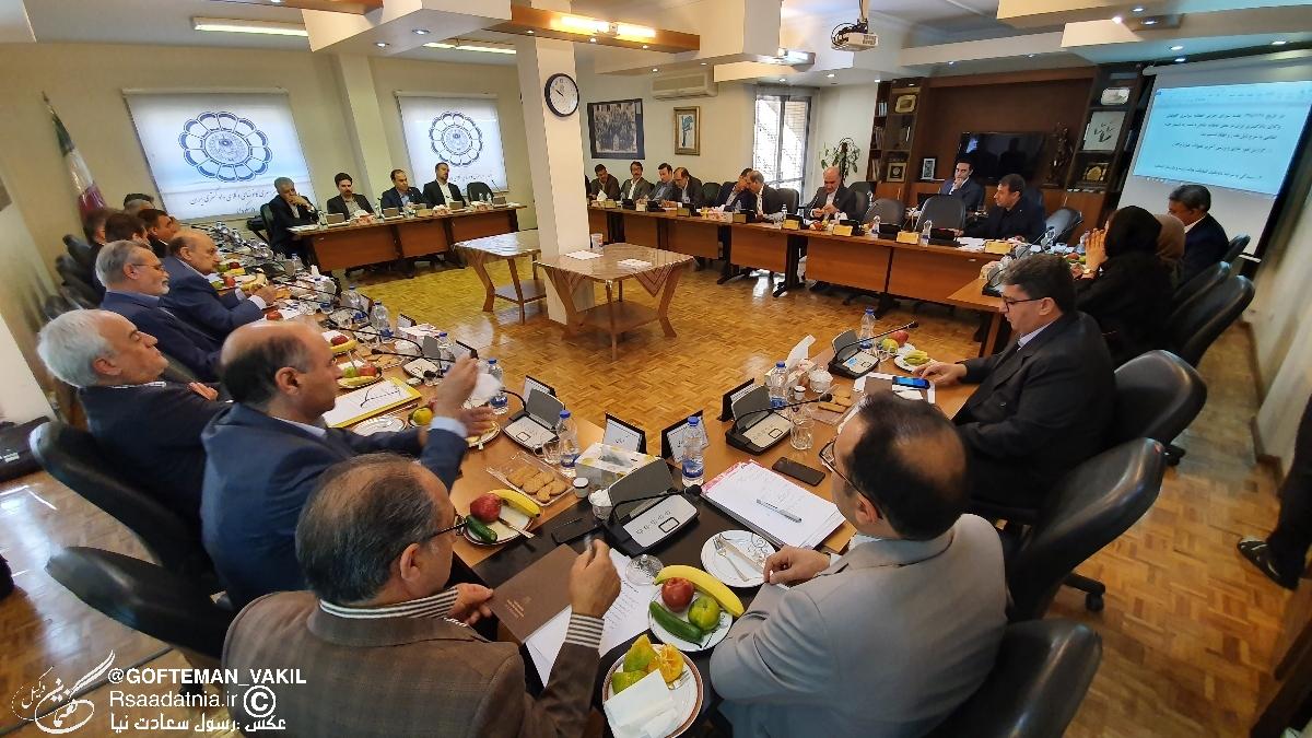 گزارش تصویری جلسه شورای اجرایی اتحادیه سراسری کانونهای وکلای دادگستری ایران به همراه تصمیمات