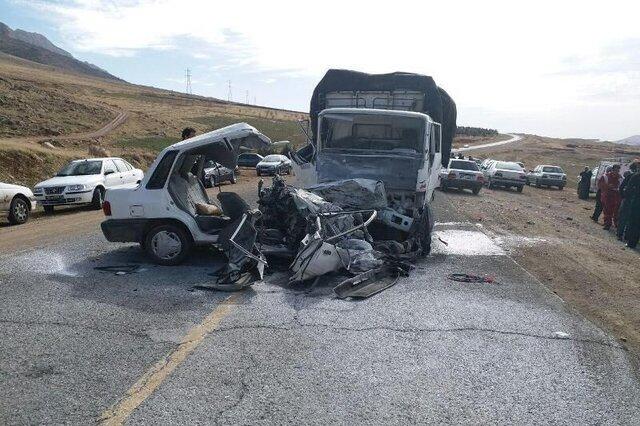 کاهش تلفات تصادفات در آذر امسال