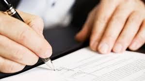 دستور موقت در قراردادها